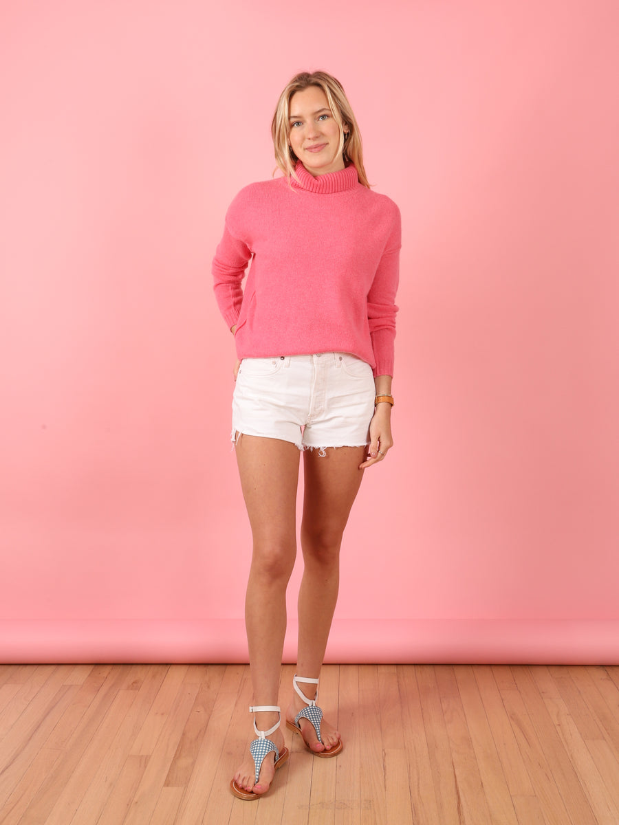 Expose Roll Collar Sweater