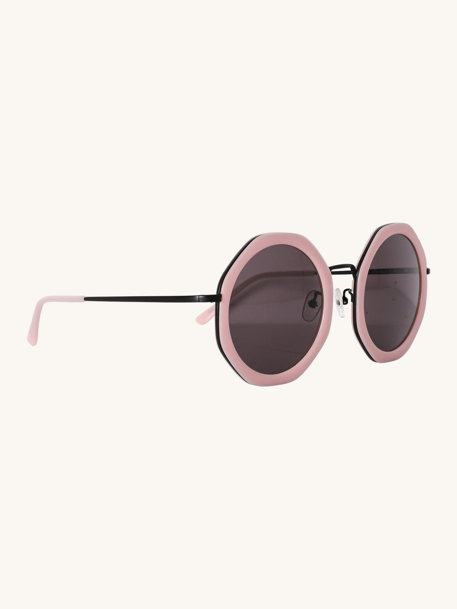 Antibes Sunglasses in Light Pink