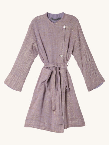 Cropped Trench in Lilac