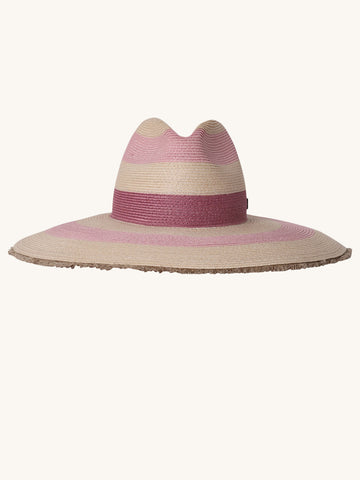Fuji Rose Hemp Straw Hat
