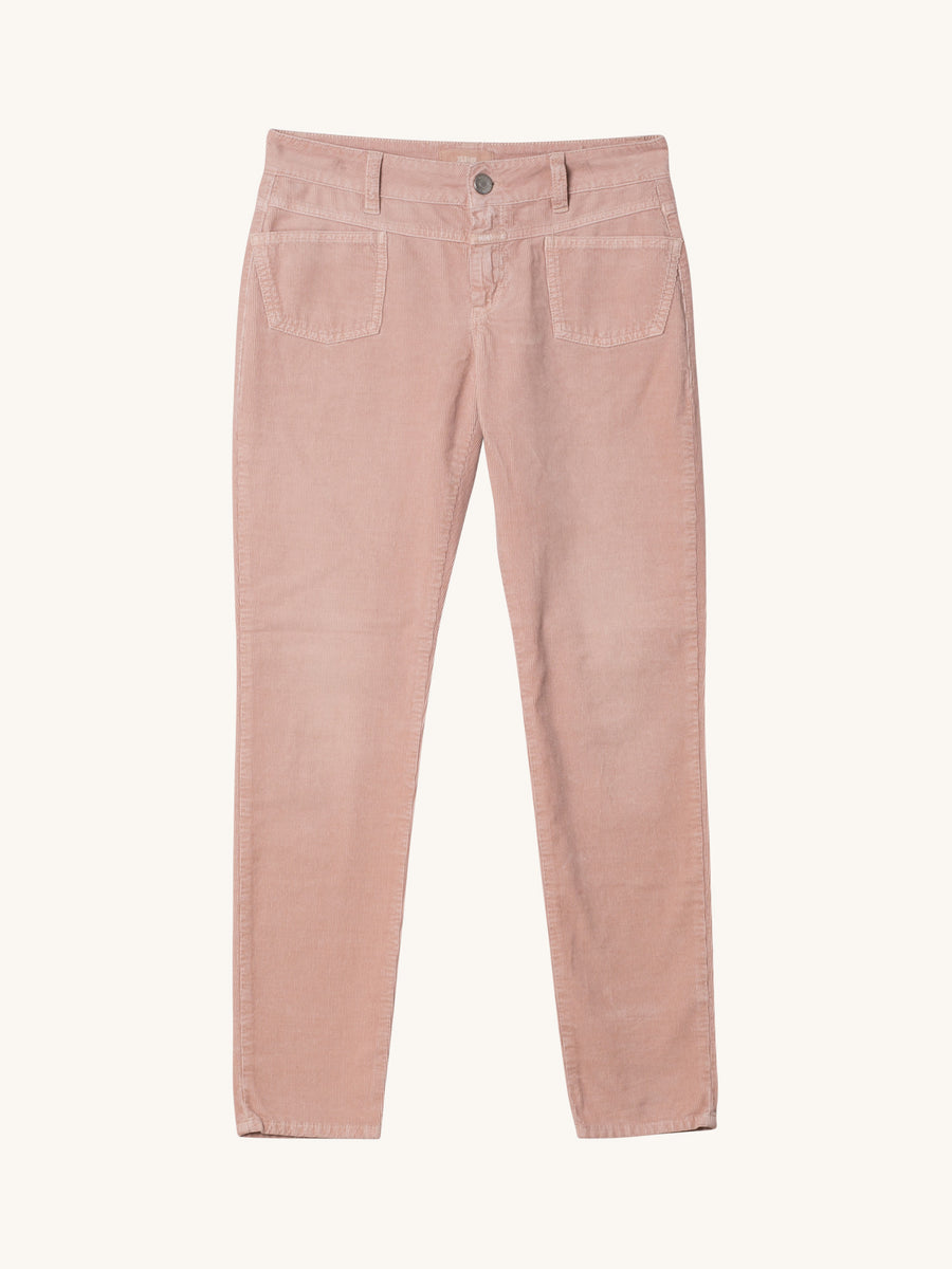Pedal-X Cord Pants in Rosy