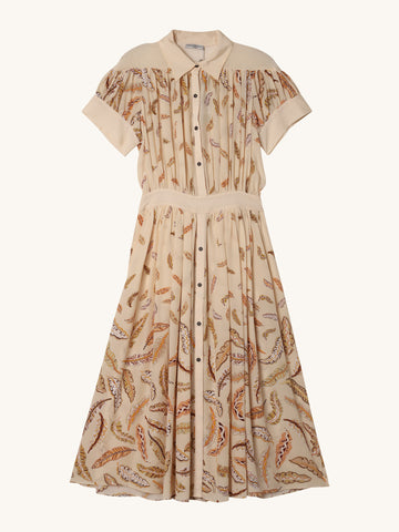 Honore Print Dress in Pink