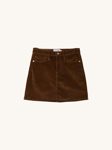 Le Mini Stretch Corduroy Skirt