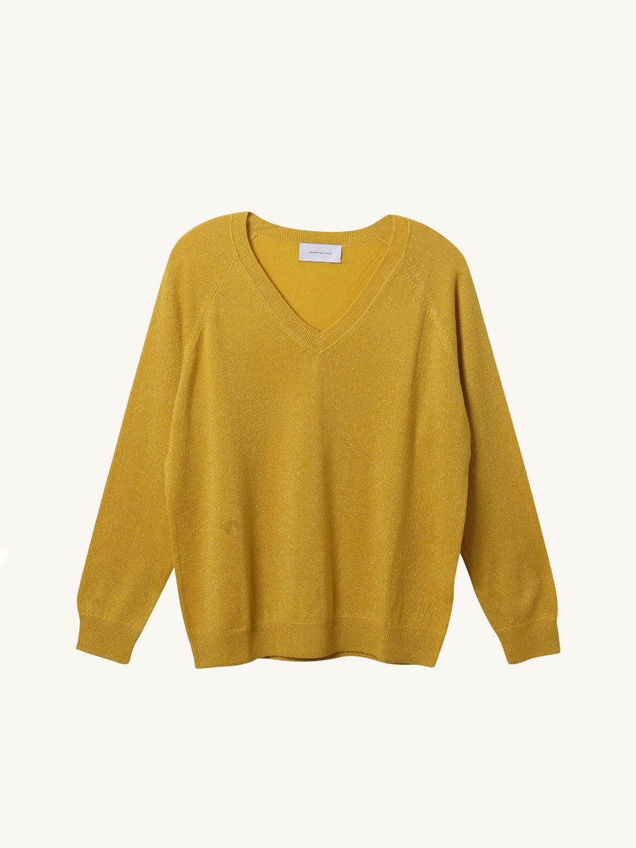 Catherine Knit in Yellow