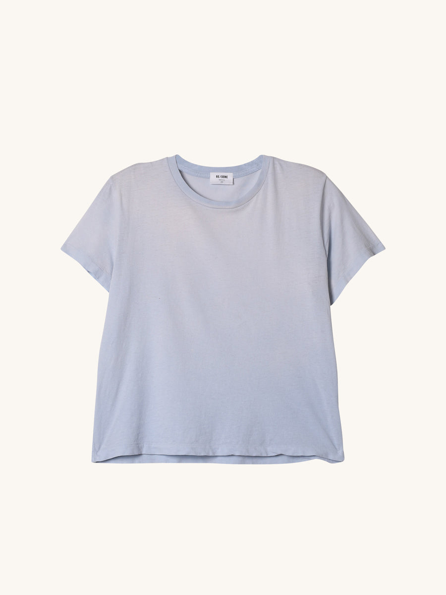 Classic Sunfaded Tee in Powder Blue