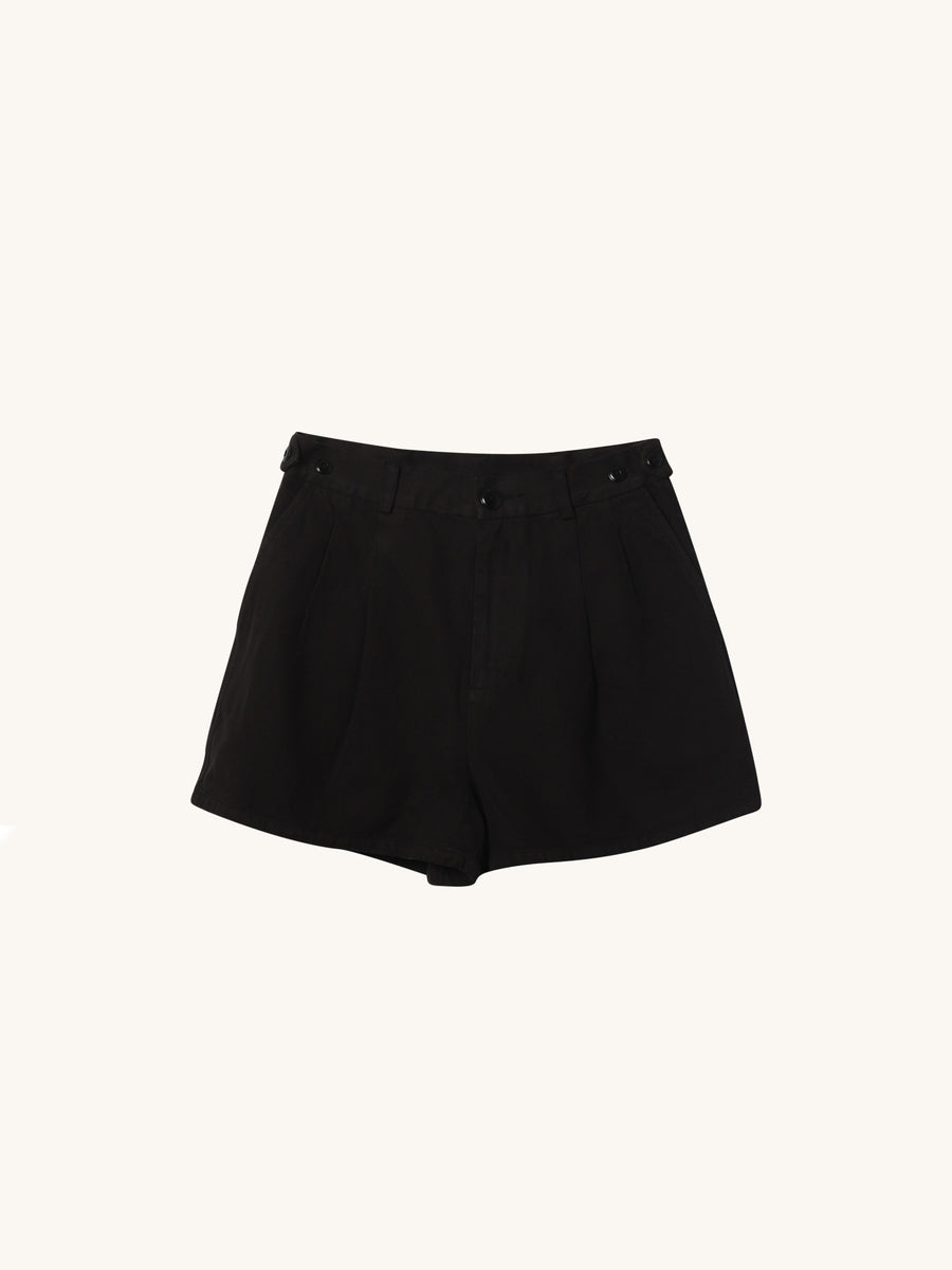Black Trouser Short