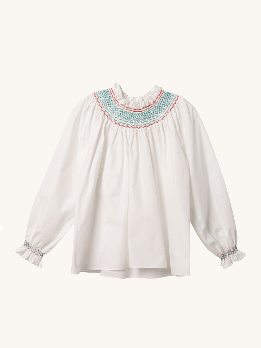 Maria Blouse in Off White