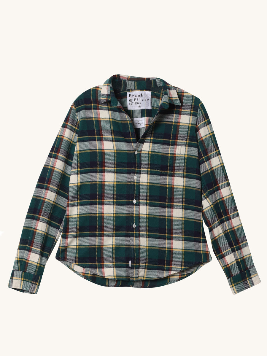Heavy Green Plaid Barry Shirt
