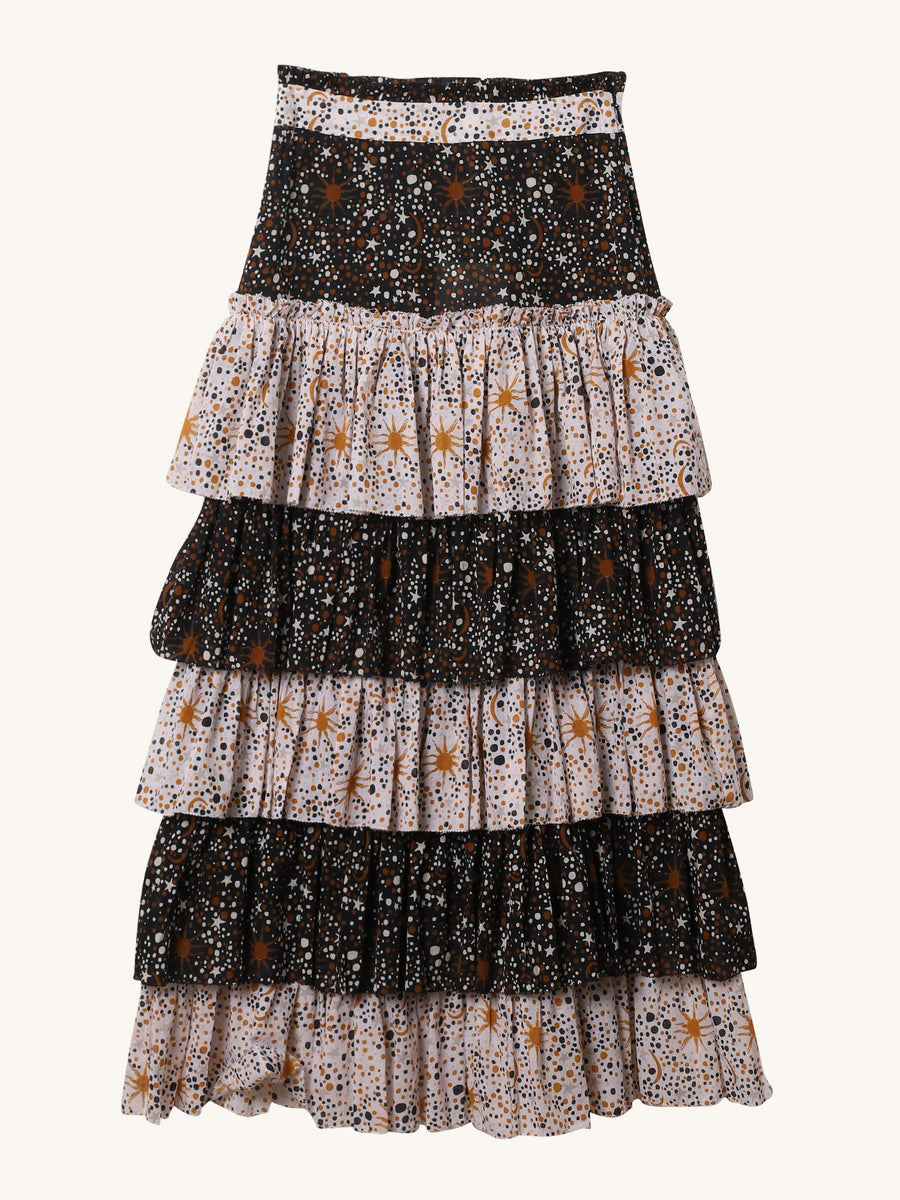 Constellation Carol Skirt