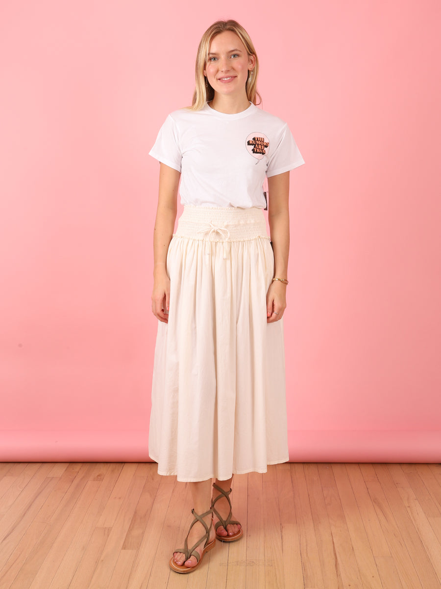 Cream Nueva Wabi Skirt