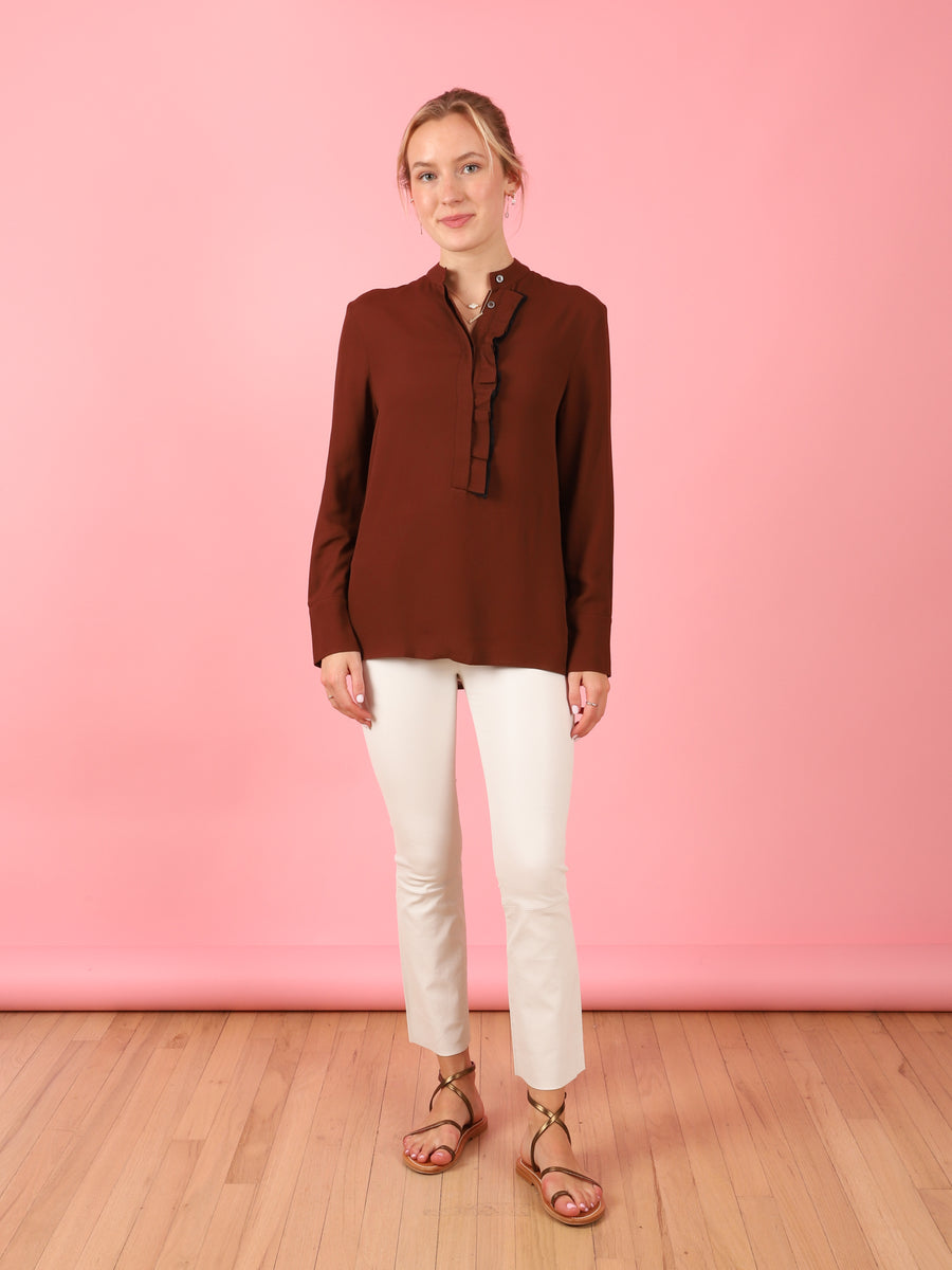 Bice Top in Brown