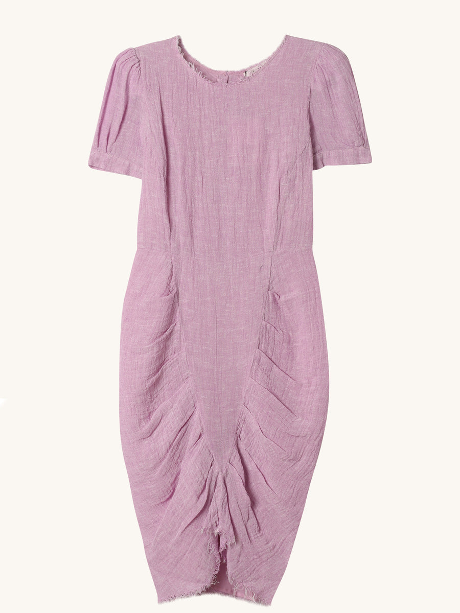 Pipa Dress in Plum