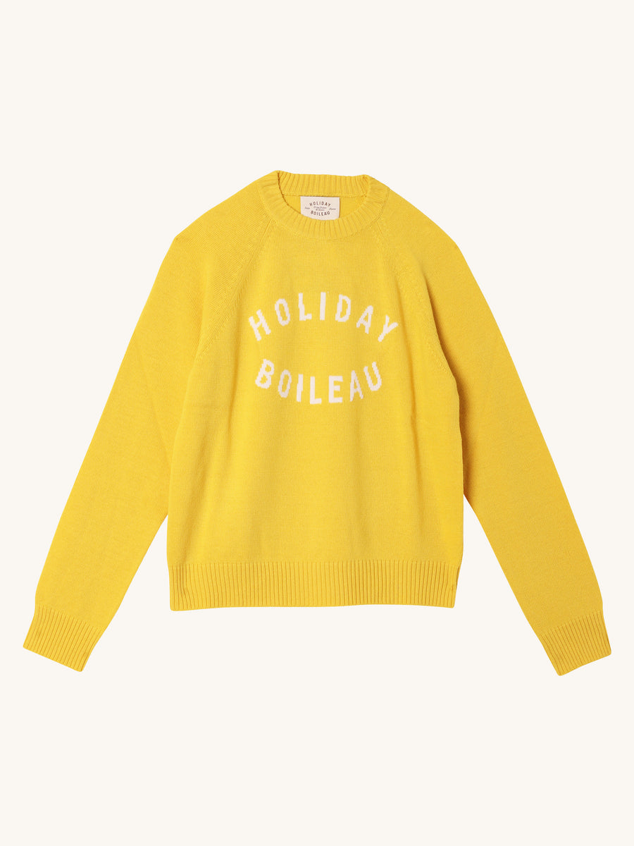 Boileau Pullover in Yellow