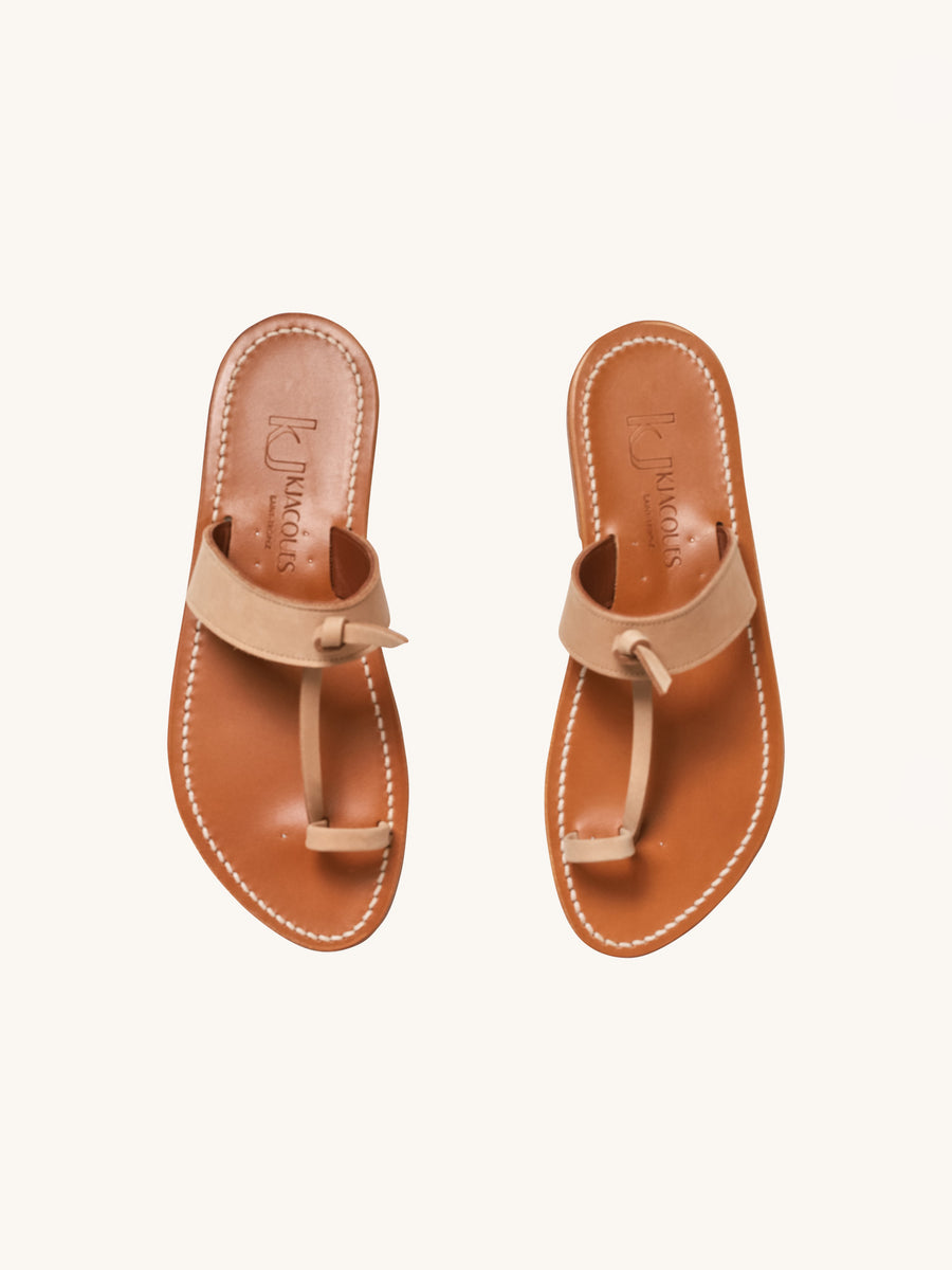 Ganges Sandal in Naturel