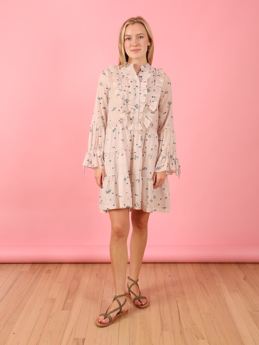 Desert Dress in Pale Pink