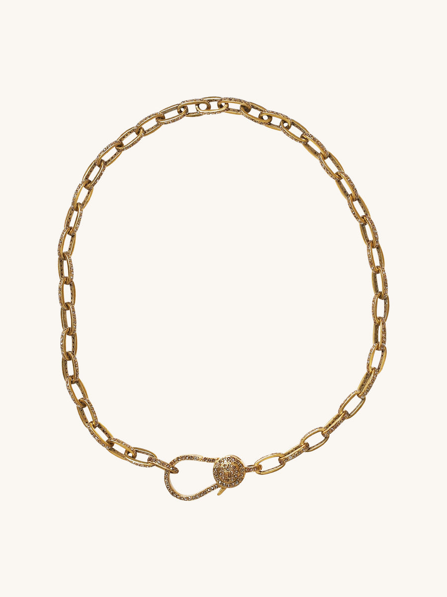 Pavé Chain Necklace