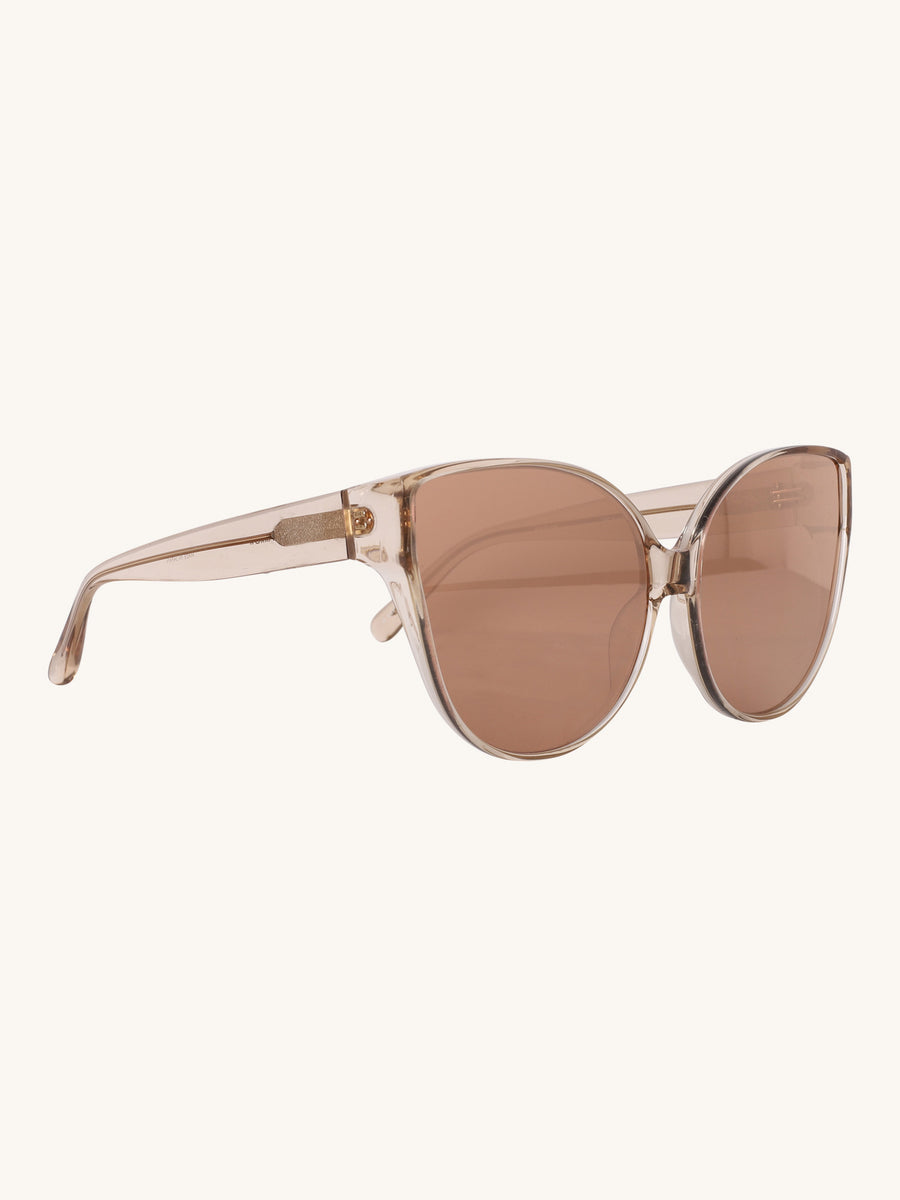 656 C5 Cat Eye Sunglasses in Ash