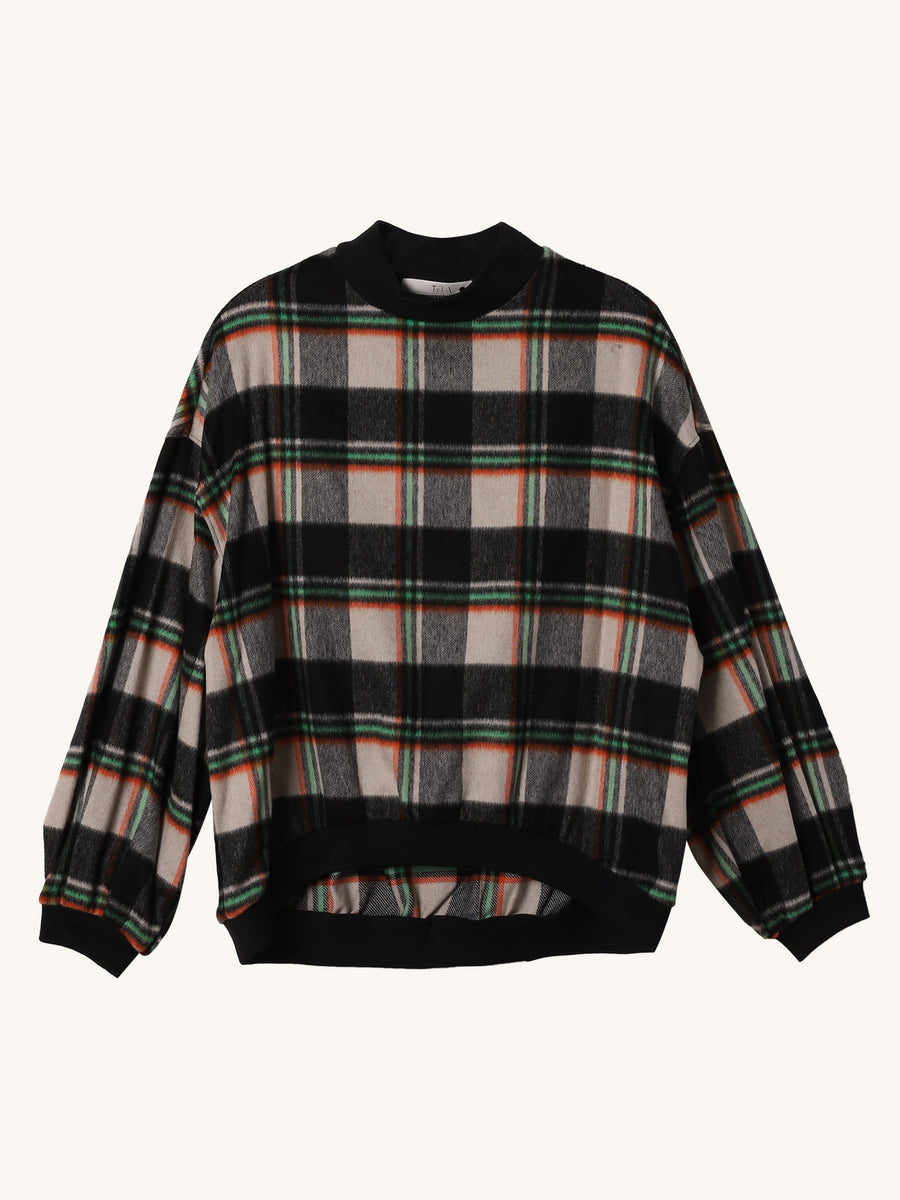 Plaid Terno Pullover