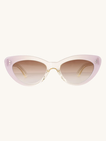 Pamela Sunglasses in Champagne & Lilac