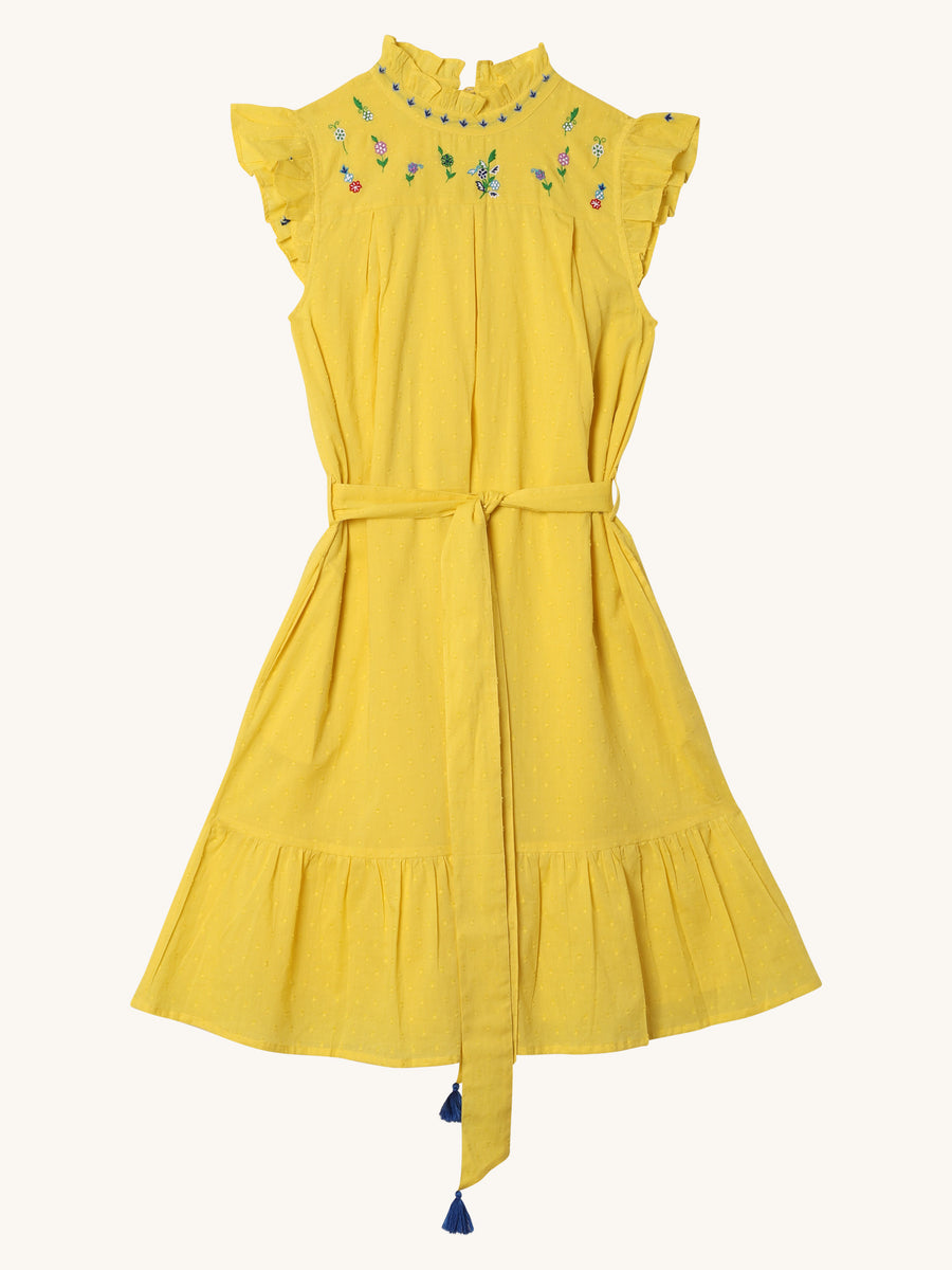 Asha Dress in Sunflower