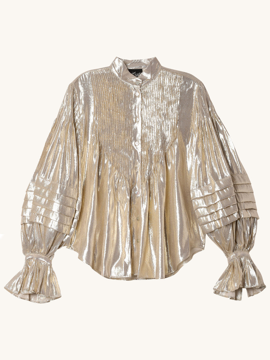Ava Blouse in Gold
