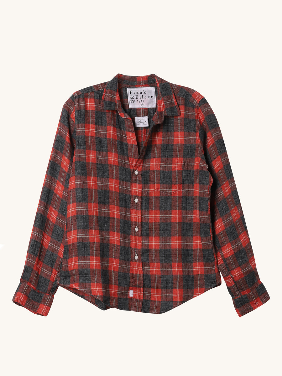 Linen Flannel Barry Shirt