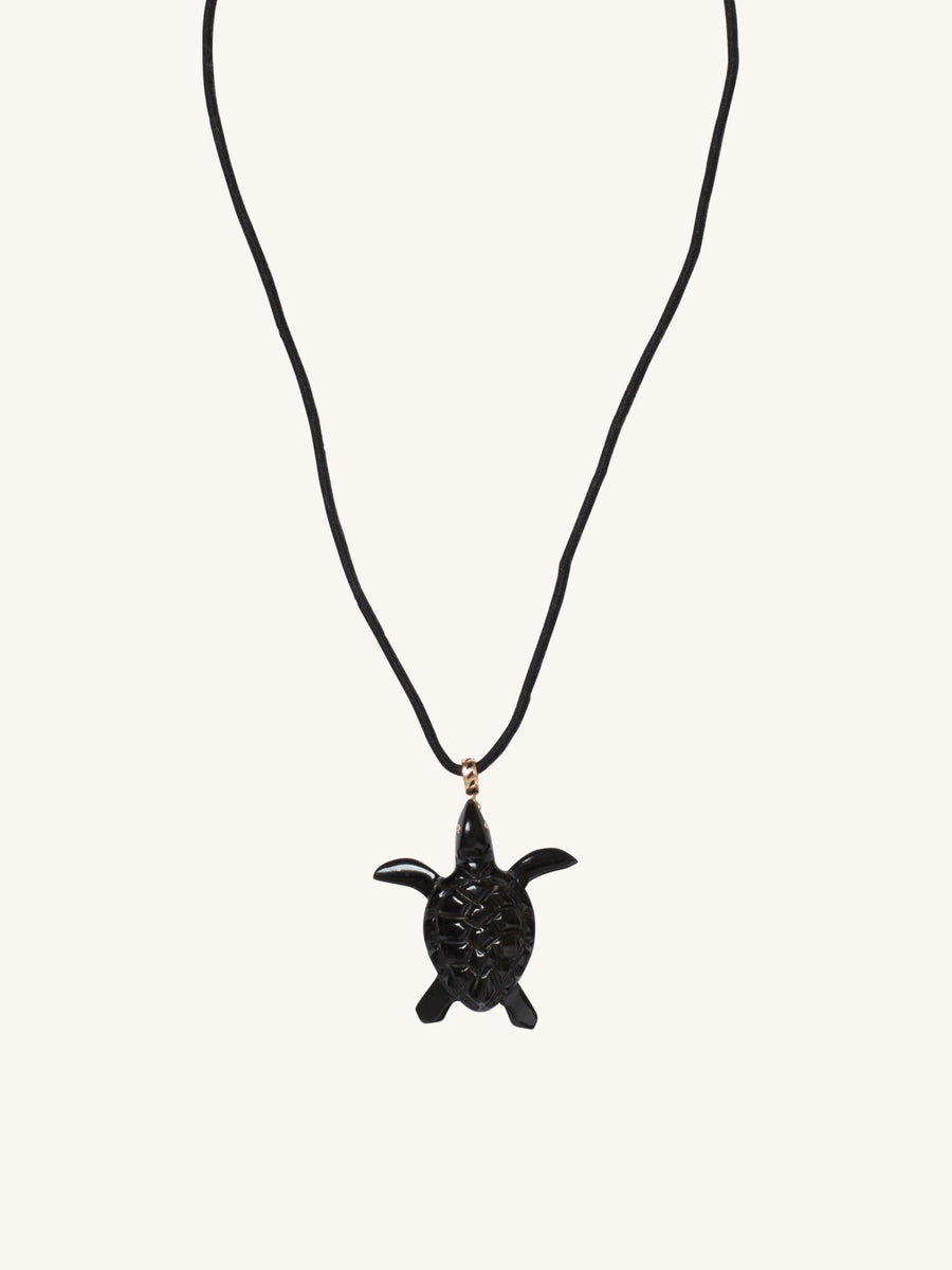 Coral Turtle Charm