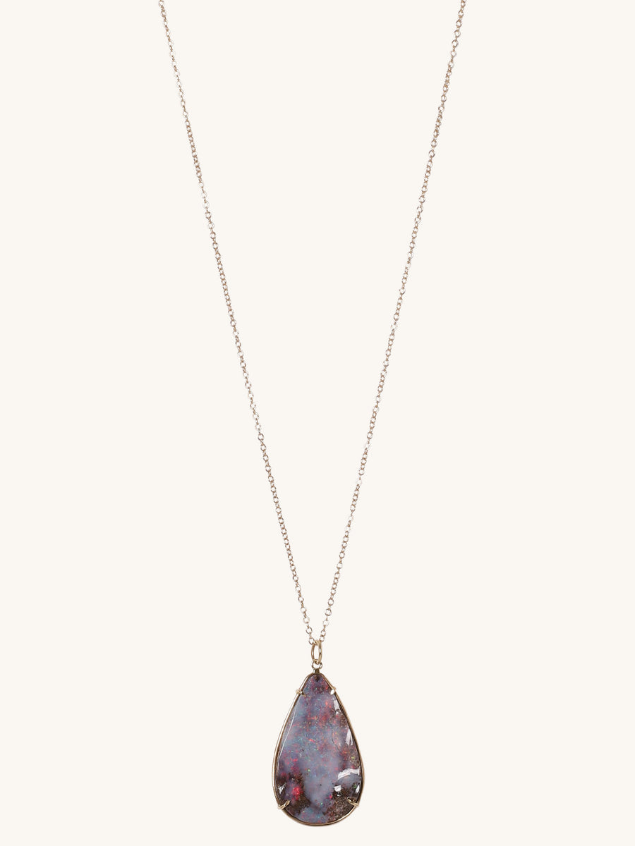 Teardrop Opal Necklace