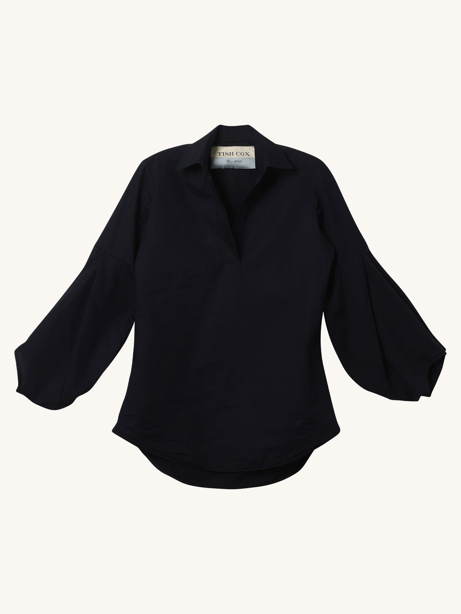 Allison Top in Navy