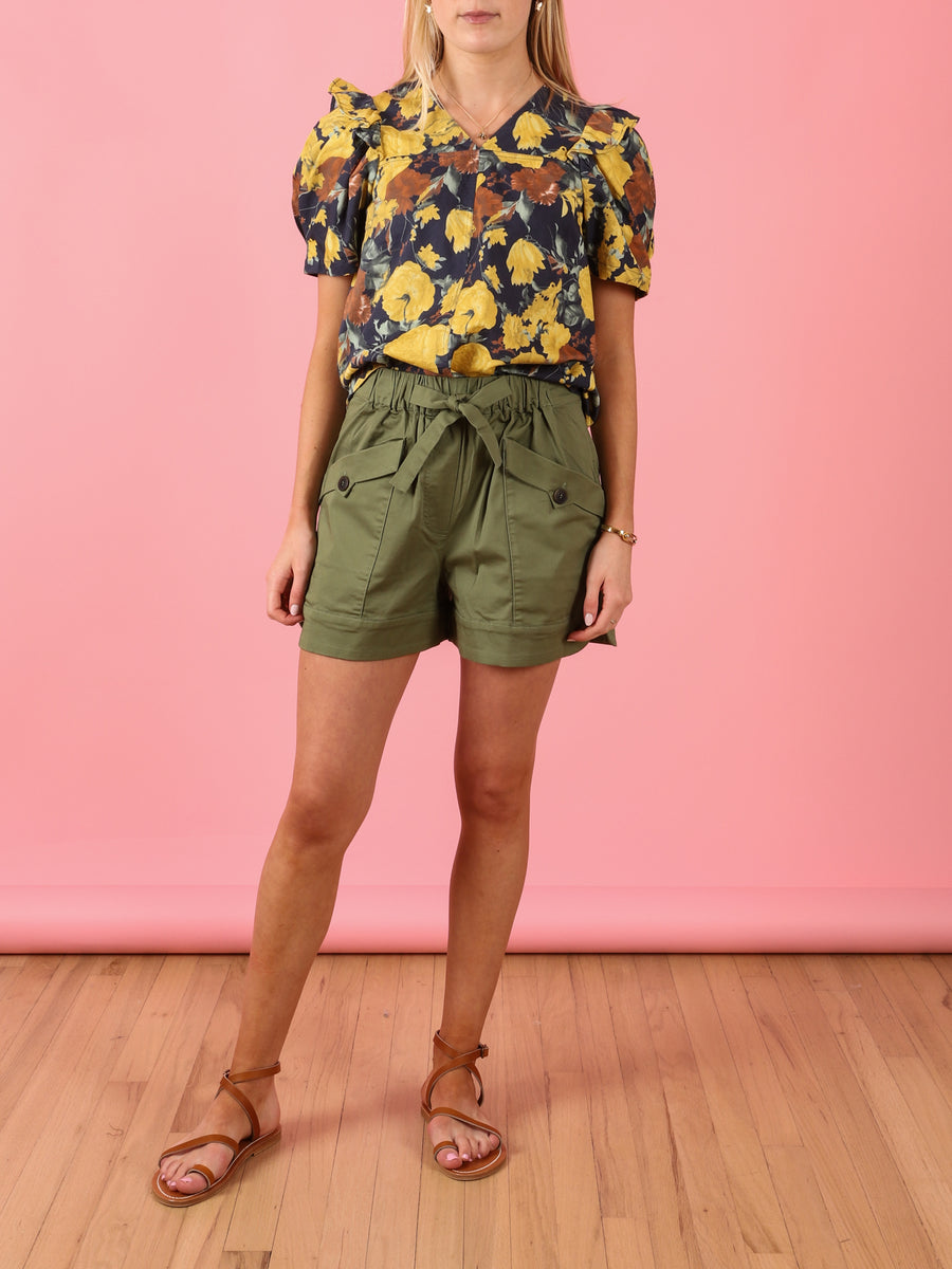 Tula Cargo Short in Sage