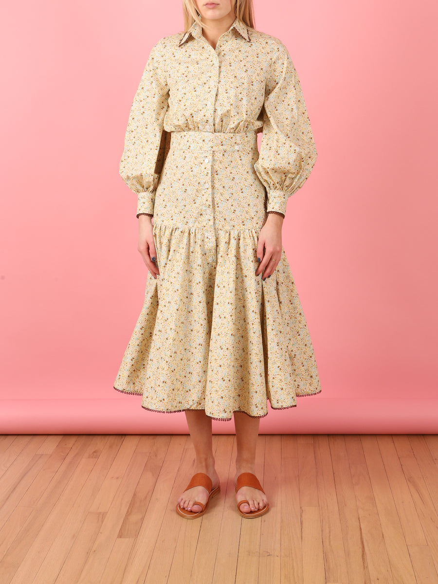 Tiny Floral Chesey Dress