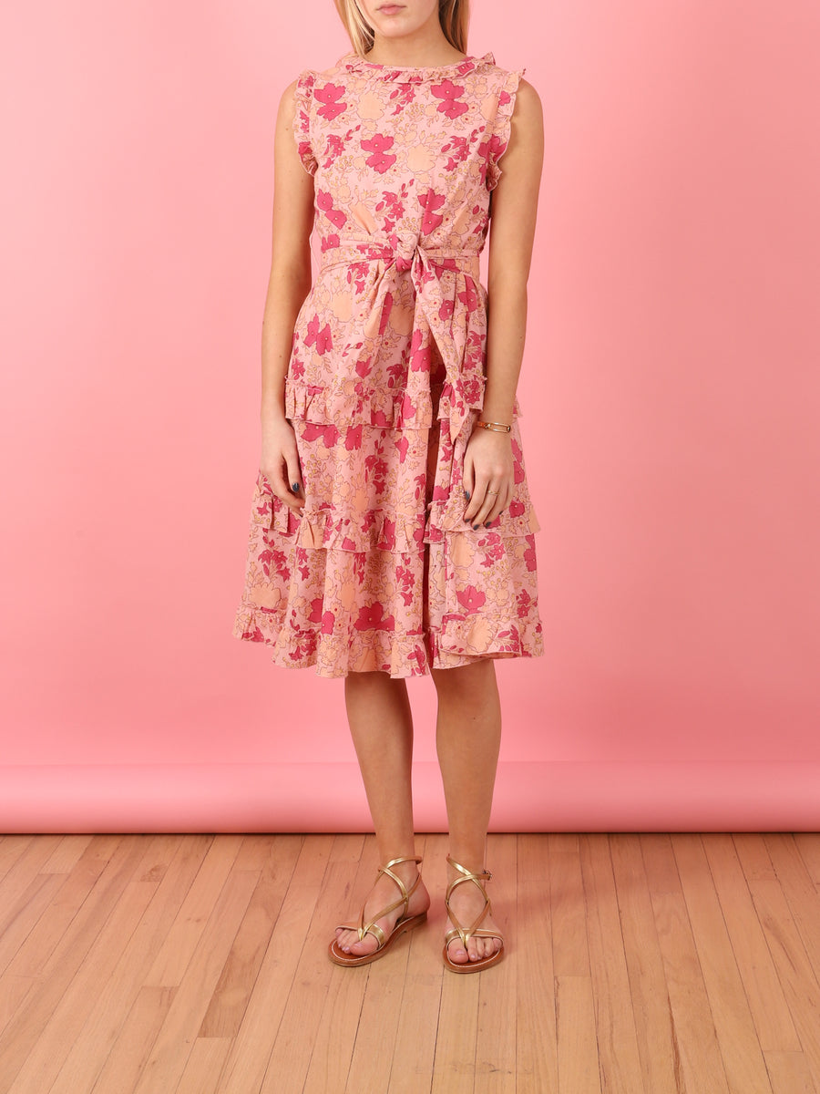 Emilie Dress in Rose