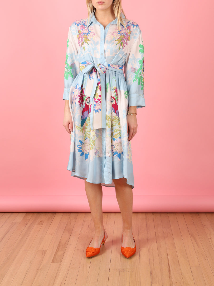 Periwinkle Shirt Dress