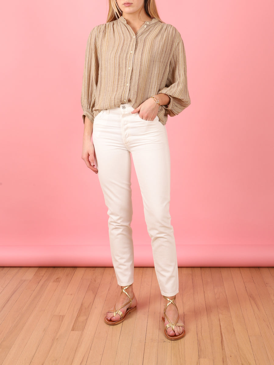 Bossa Blouse in Sand