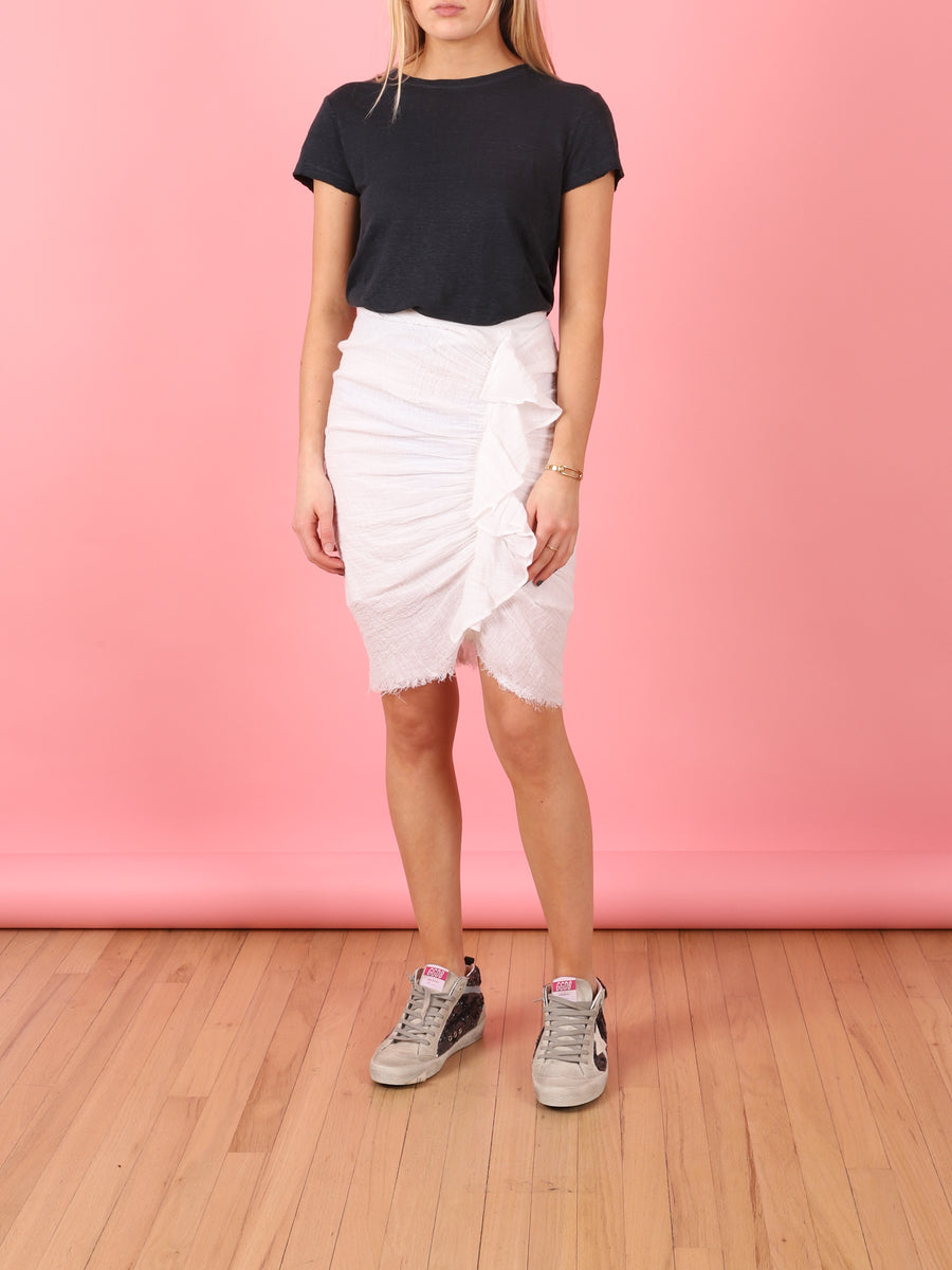 Carioca Skirt in White