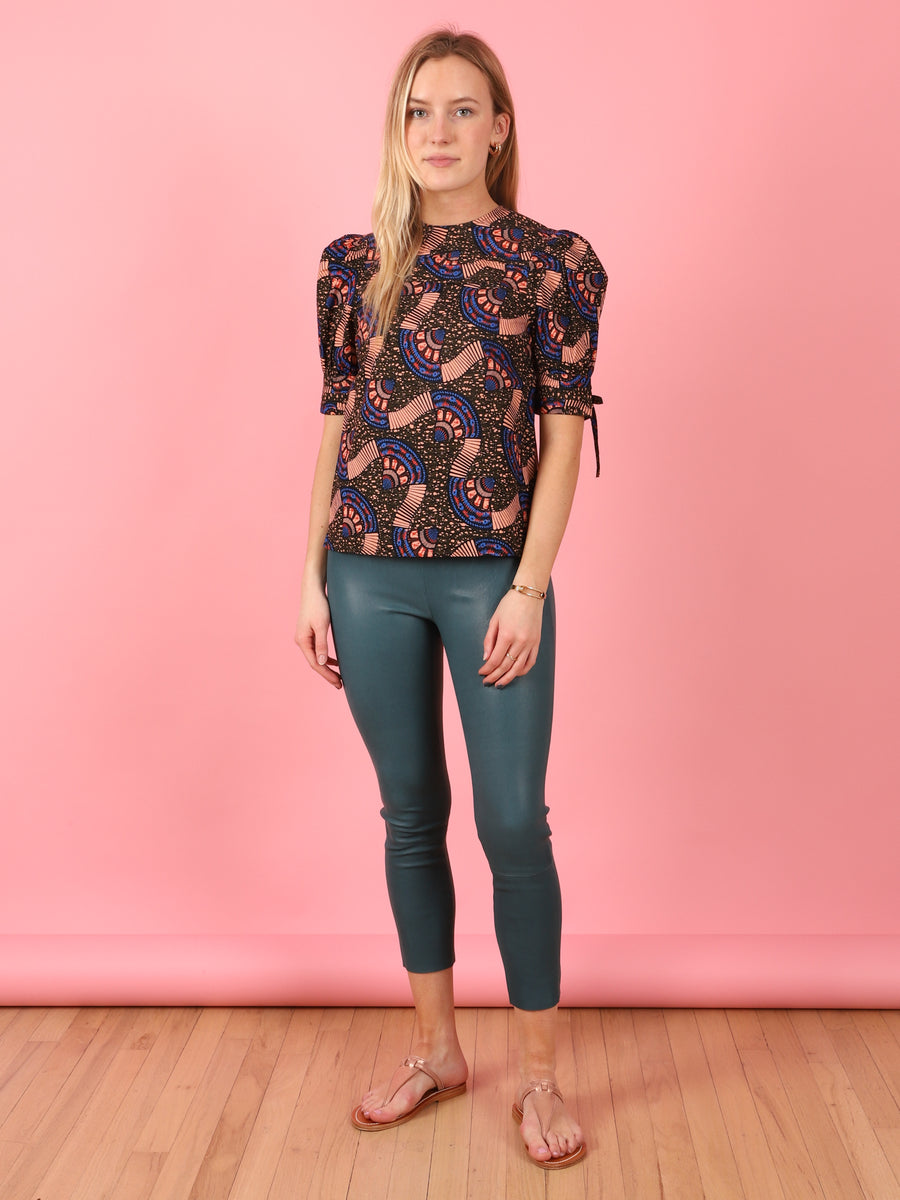 Etta Print Top in Army