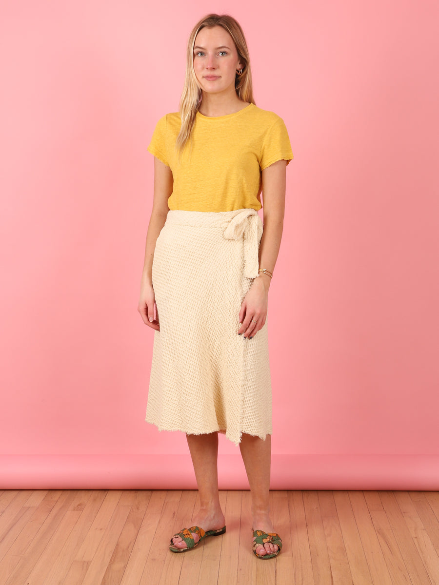 Ubatube Skirt in Ivory