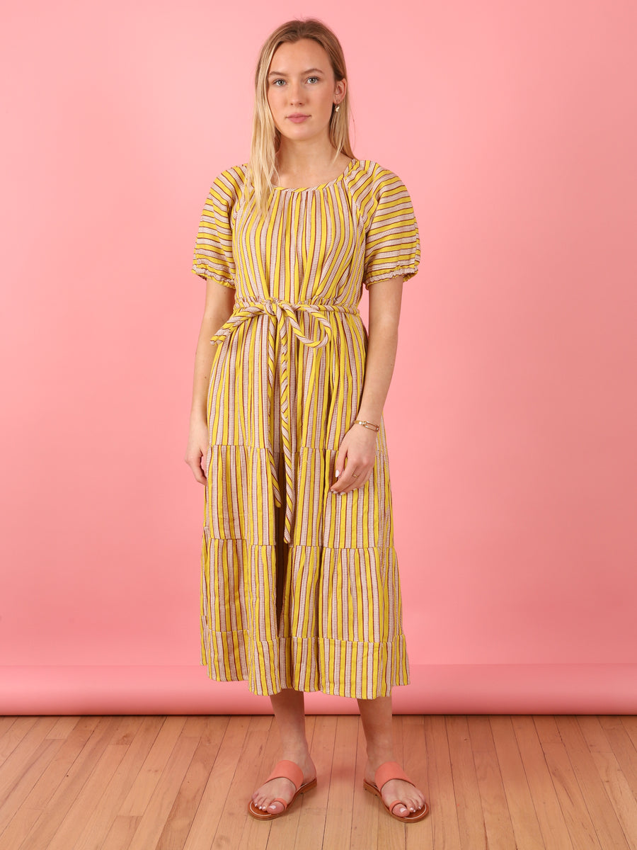 Noah Neon Yellow Dress