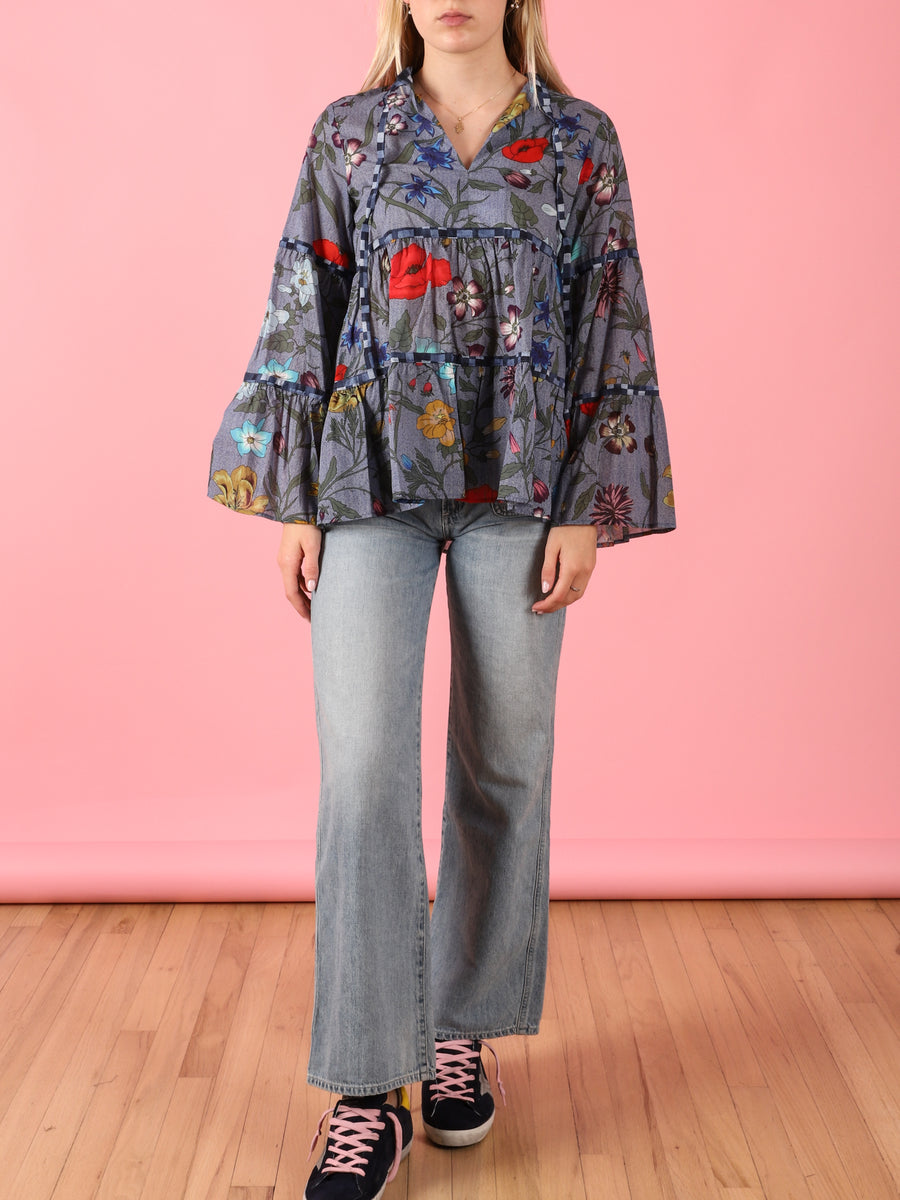 Floral Layer Blouse