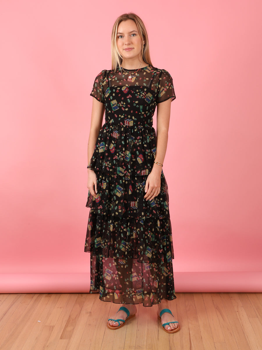 Brynn Treasure Dress in Black