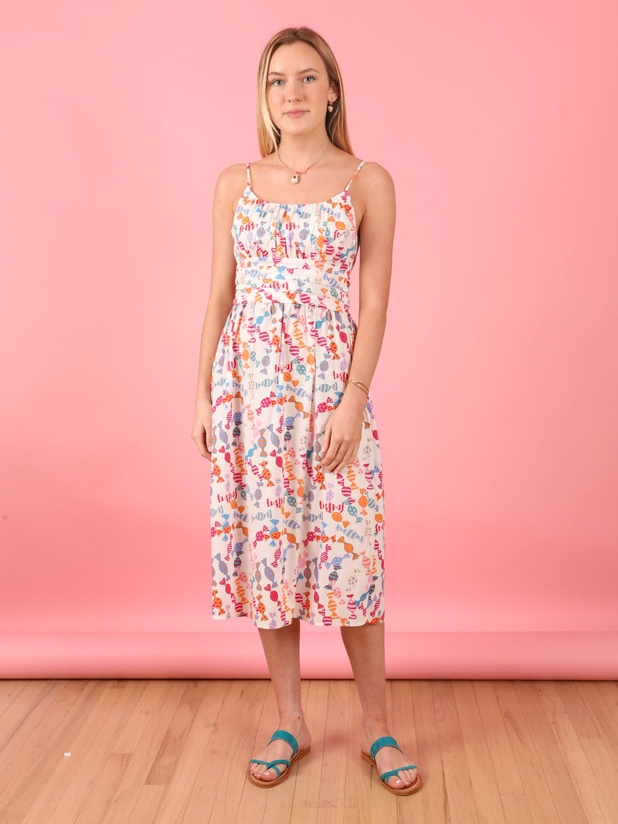 Lucy Dress in Candy Print