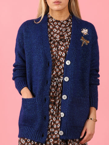 Porcellana Popa Cardigan with Bugs