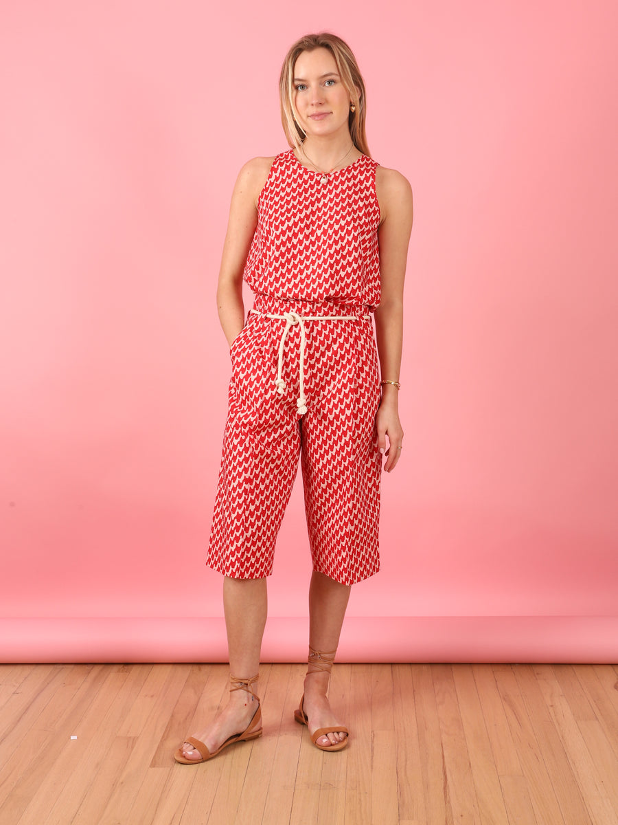 Printed Pomegranate Trouser