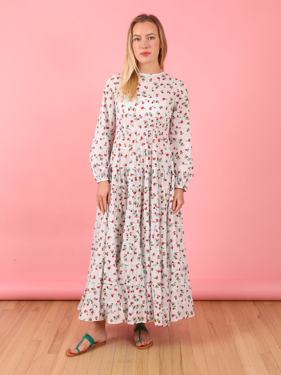 Ditsy Floral Pip Dress