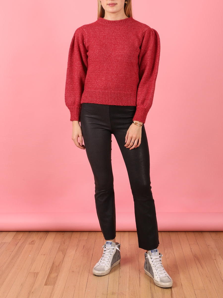 Adoree Sweater in Cherry
