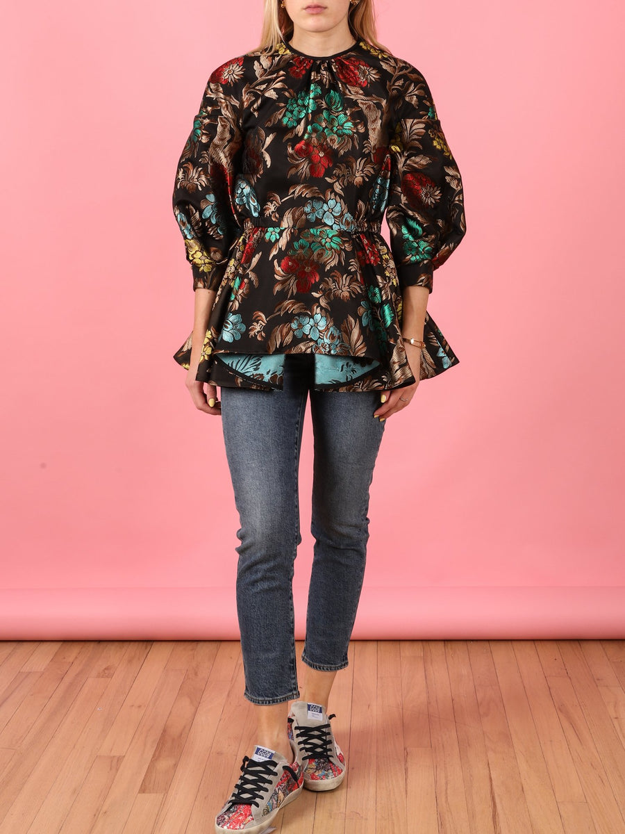Brocade Barbara Top