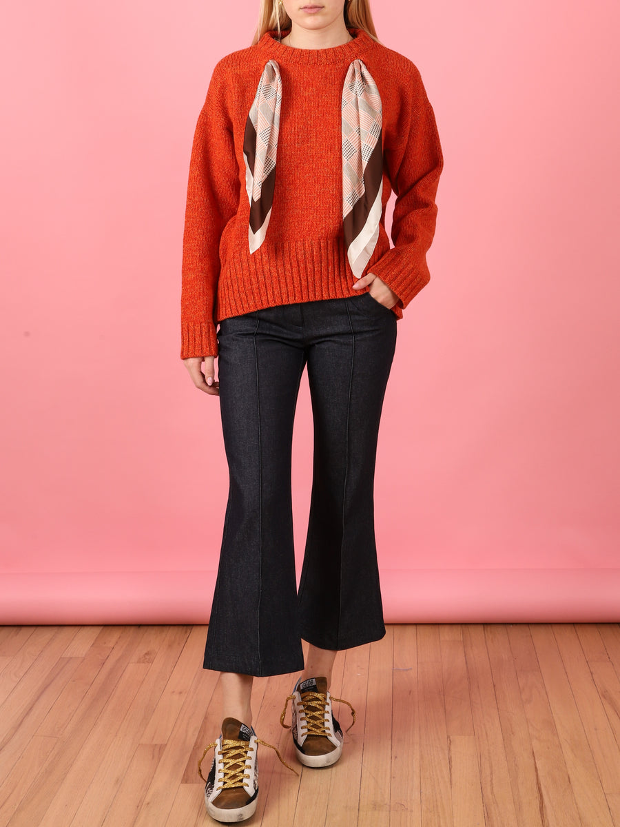 Maglia Sweater in Orange