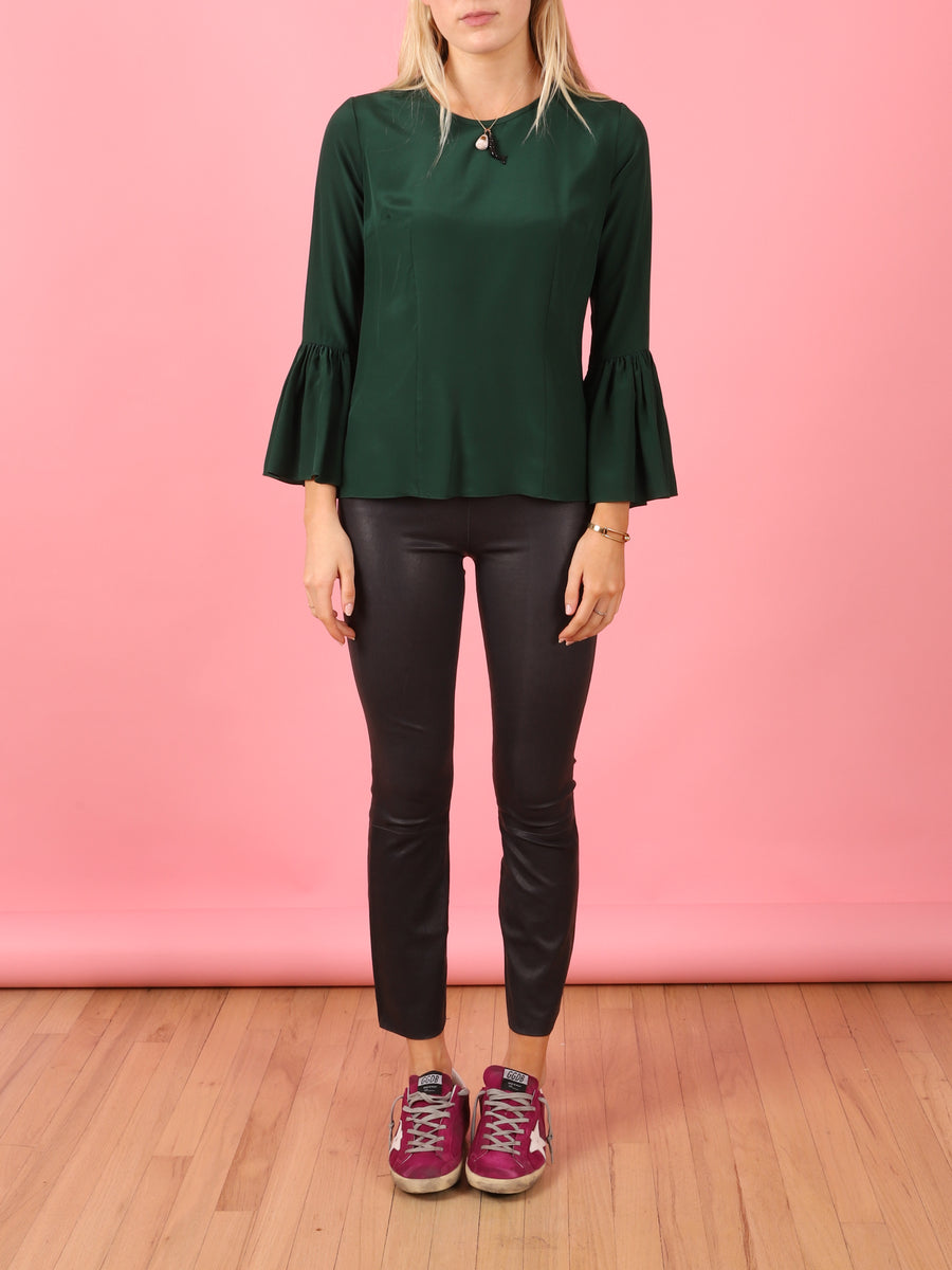 Pia Top in Green