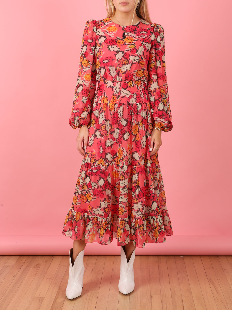 Isabel Valentine Floral Dress