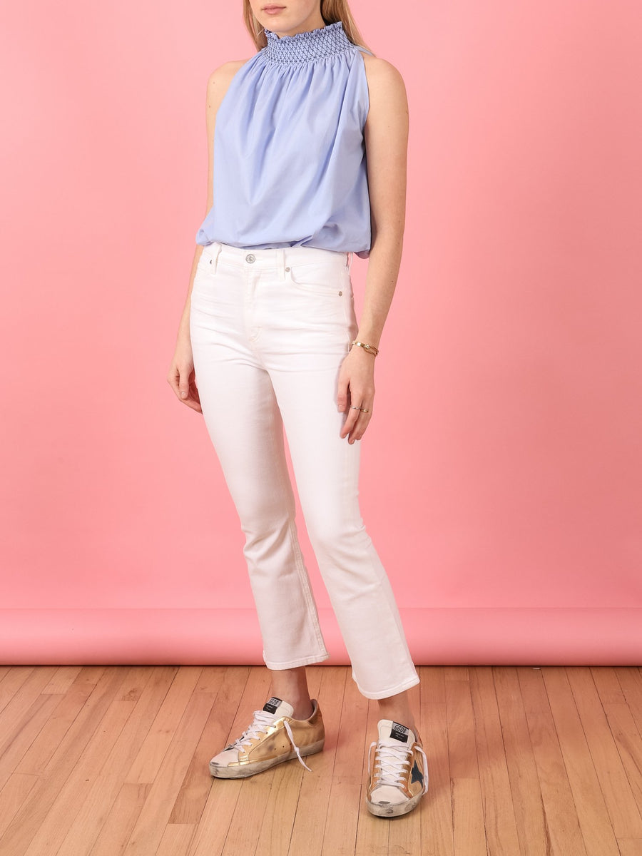 Demy Cropped Flare in  Unveil